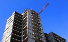дом конструкции вниз Стоковая Фотография