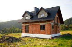 дом конструкции новая Стоковые Изображения RF