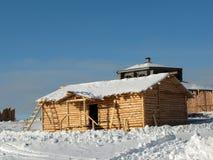 дом конструкции сельская Стоковое Изображение RF