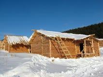 дом конструкции сельская Стоковое Фото