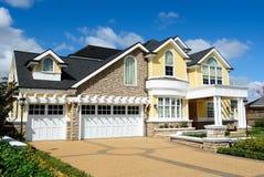 дом конструкции шикарная Стоковое Изображение