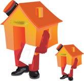 дом консьержа иллюстрация штока