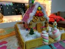 Дом конфеты стоковые изображения rf