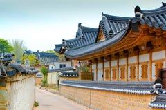Дом корейца Tradional Стоковые Изображения RF