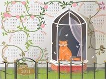 дом кота Стоковое Фото