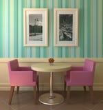 дом кофе цветастая самомоднейшая Стоковое Изображение