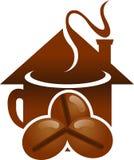 Дом кофе Стоковое Фото