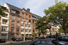 Дом красных кирпичей в Берлине Стоковые Изображения RF