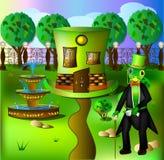 Дом кузнечика Стоковое Изображение RF