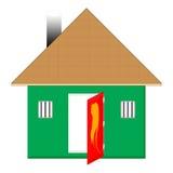 дом малая стоковая фотография rf