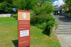 Дом Марка Твена, Hartford, Коннектикут, США стоковое изображение