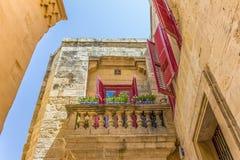 Дом Мальты Стоковые Изображения RF