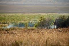 Дом мелкого крестьянского хозяйства Стоковая Фотография RF