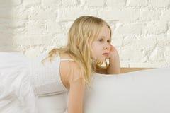дом мечтая девушки ребенка Стоковое Фото