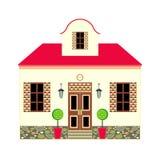 дом мечты Иллюстрация вектора