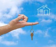 дом мечты Стоковые Изображения