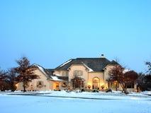 дом Минесота рождества стоковое изображение