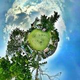 Дом 360, мир свободы Стоковое Изображение