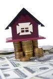 дом монеток стоит башня Стоковое Фото