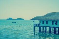 Дом морем Стоковая Фотография