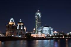 Дом Москва международная нот Стоковое Изображение RF
