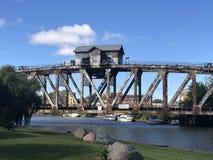 Дом моста реки тролля стоковое фото rf
