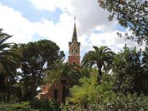 Дом-музей Antoni Gaudi Стоковые Изображения