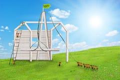 Дом муравея Стоковое фото RF