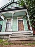 Дом мяты зеленый старый Стоковое Фото