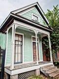 Дом мяты зеленый старый Стоковое Изображение