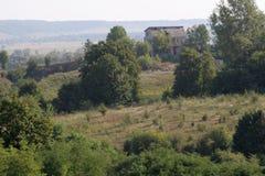 Дом на горе Стоковое Фото