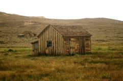 Дом на национальном парке Bodie стоковые фото