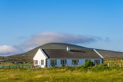 Дом на острове Achill Стоковая Фотография RF
