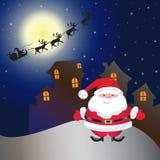 Дом на Рождество Стоковые Изображения
