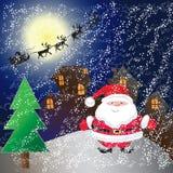 Дом на Рождество Стоковое фото RF