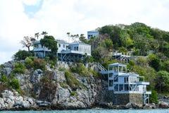 Дом на скале Стоковая Фотография RF