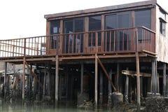 Дом на ходулях Стоковое Фото