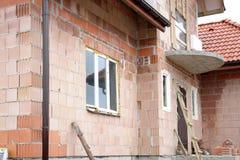 дом незаконченная Стоковая Фотография