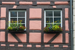 Дом немца типичная стоковое фото rf