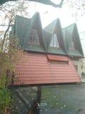 дом необыкновенная Стоковые Фотографии RF
