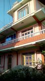 Дом Непал внутри стоковая фотография