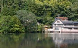 Дом озера Стоковые Изображения RF