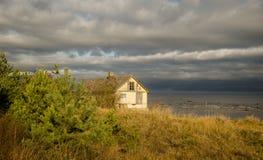 Дом около моря Стоковое Изображение RF