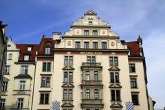 Дом Орландо в Мюнхене, Германии стоковые фотографии rf