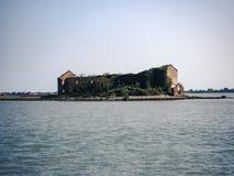 Дом острова старый Стоковое Фото