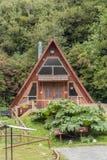 Дом отдыха во спа Puyehue в чилийской Патагонии стоковая фотография