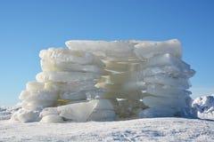 Дом от льда Стоковые Фотографии RF