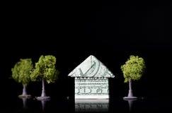 Дом доллара США Стоковое Фото