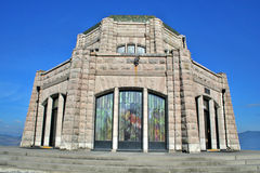 Дом перспективы в Орегоне Стоковые Фотографии RF
