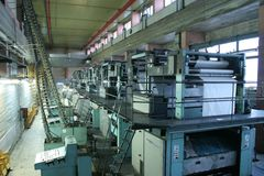 Дом печатания Стоковое Фото